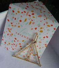 BNIP MY LITTLE BOX Love Triangle Geometric Hairpin Gold Colour Hair Clip Pin