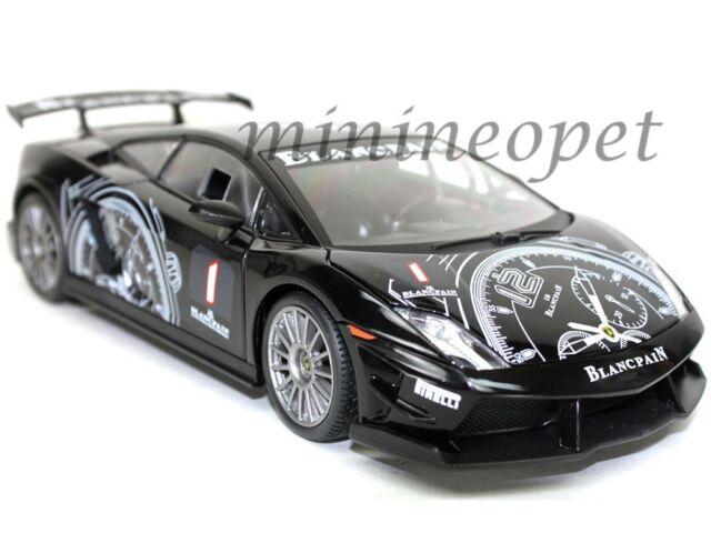 MOTORMAX 79153 LAMBORGHINI GALLARDO LP560 4 SUPER TROFEO #1 1/18 DIECAST  BLACK