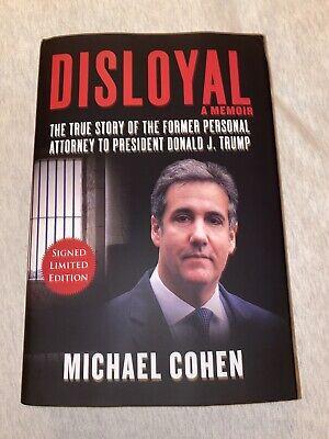 - Hardcover Michael Cohen Disloyal -