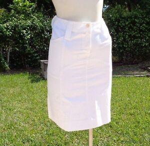 casual Italy Skirt Made M White 2 Sz cotone Missoni in elasticizzato In qRwUnwPptg