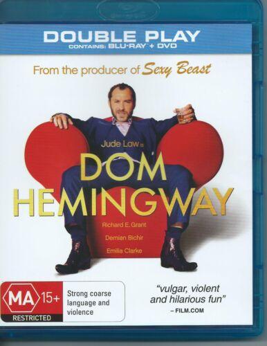1 of 1 - Dom Hemingway Bluray Disc ONLY Thriller