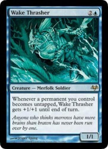 MTG NM *CCGHouse* Magic Eventide Wake Thrasher X1