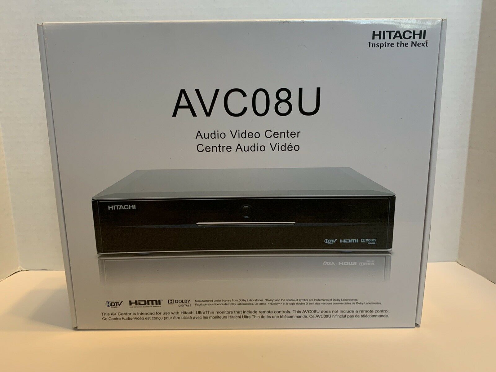 Brand New Hitachi Avc01u Audio Video Control Center With Original Box And Manual For Sale Online