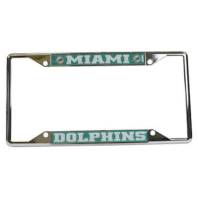 Rico Industries NFL Unisex-Adult License Plate Frame Chrome