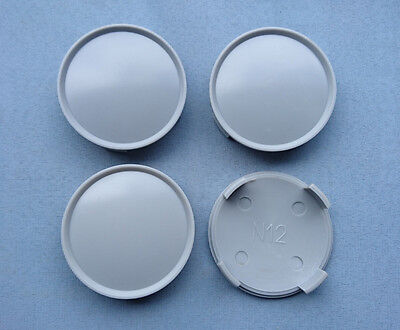4 St/ück Grau ZD01 NABENKAPPEN NABENDECKEL FELGENDECKEL 76,5 mm