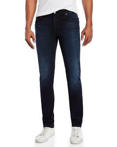 Nudie-Herren-Slim-Skinny-Fit-Bio-Stretch-Jeans-Hose-Thin-Finn-Twilight-Dusk