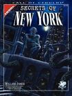 The Secrets of New York by Chaosium RPG Team (Paperback, 2008)