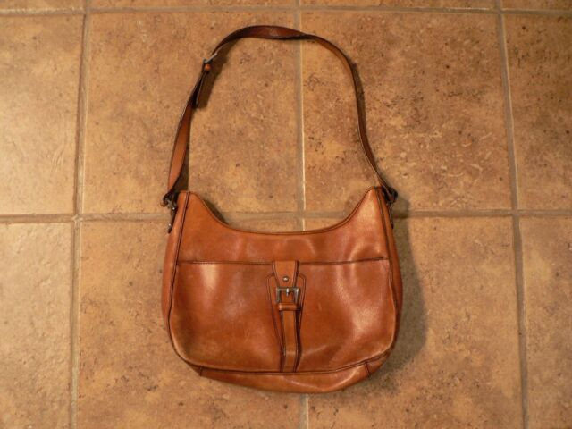 Vtg Etienne Aigner Leather Purse Handbag Pocketbook Shoulder Bag Brown