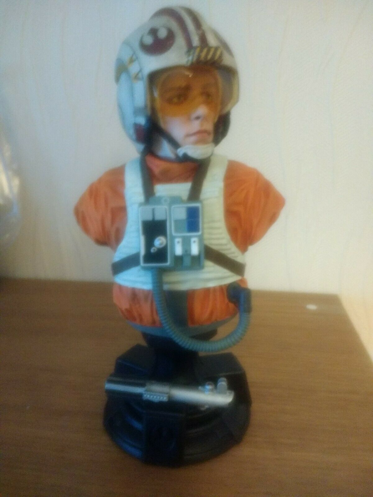 Star Wars Episode IV Bust 1 1 1 6 Luke X-Wing Pilot limited edition 40th anniversary fae555