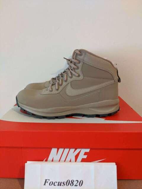NEW Nike Manoadome 844358-200 Khaki Tan Grey Men's Hiking Trail Work Boots