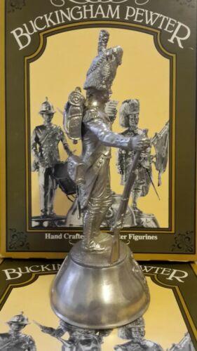 Chas C Stadden Grenadier A Pied La Garde Imperiale 1815 Pewter Figure