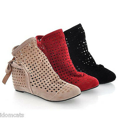 idomcats Womens Boots Sandals Casual Flats Ankle booties wedges Shoes Size 8-1