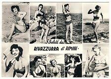 Italien Italia Italy RIMINI Bikini Girls Badenixen * Vintage 50s Photo PC PIN-UP