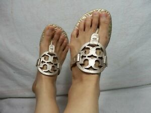 7922eea87eb9 Image is loading Tory-Burch-Miller-Sandal-size-7-5-M-