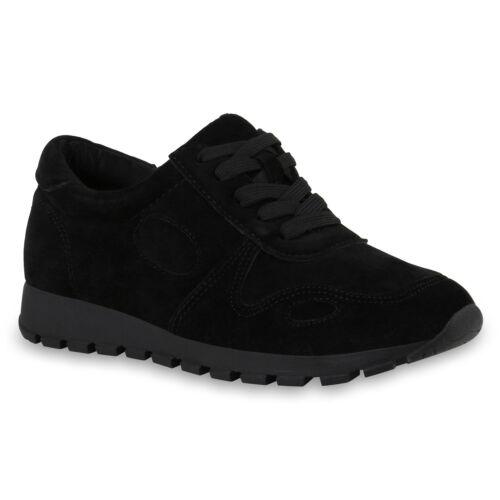 Damen Sportschuhe Profilsohle Laufschuhe Freizeit Sport Sneaker 817826 Schuhe