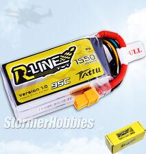 Tattu (14.8V 95C 4S1P) R-Line 1550mAh Lipo Battery Pack XT60 Plug For FPV Racing