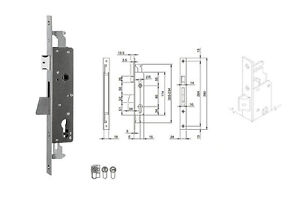 ISEO-783251IFZ-LOCK-INSERT-ENTRY-0-31-32in-FRONTAL-ZINC-PLATED-0-15-16in-BOLT