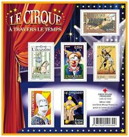 Bloc Feuillet BF121 - Le cirque à travers le temps - 2008