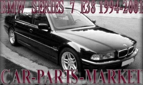 Côté Droit Aile Miroir De Verre Pour BMW Série 7 e38 94-01 Chauffé Plaque