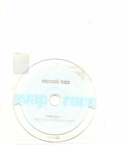 NICCOLO-FABI-CD-single-MADE-IN-ITALY-Evaporare
