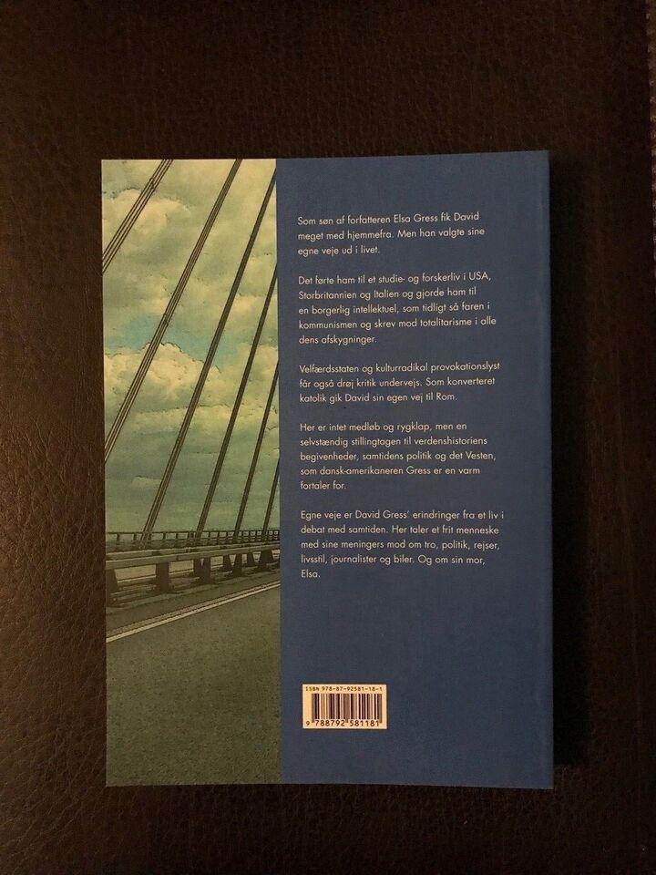 Egne Veje, David Gress, genre: anden kategori
