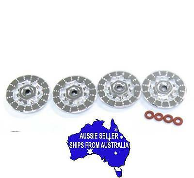 Fake disc brakes for 1:10 RC suit Tamiya HPI Sakura drift touring cars 30mm dia