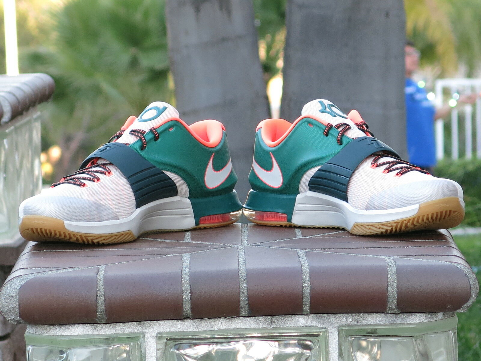 897deae6b2d1 ... Nike Kevin Durant KD VII VII VII 7 Miami Easy    Men s Basketball Shoes  653996 ...