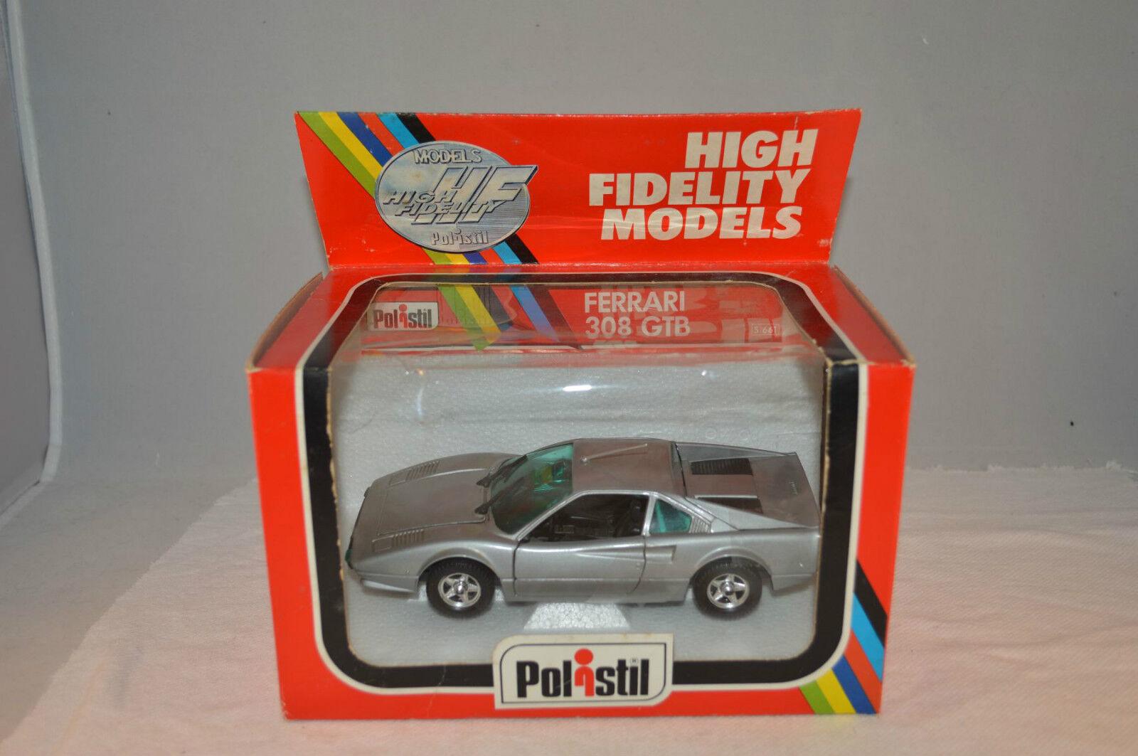 Polistil S 661 Ferrari 308 GTB perfect mint in box