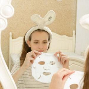 Big Rabbit Ear Soft Towel Hair Band Wrap Headband For Bath Spa Make ... 3882be5d5038