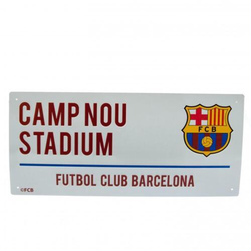 FC Barcelona offizielles Straßenschild TA1057