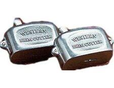 """M&F Western Hat Brim Cutter High Quality Premium 1/8"""" Silver 01002"""