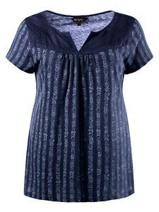 Womens-plus-size-22-24-34-36-top-classic-cotton-longer-length-t-shirt-style-top