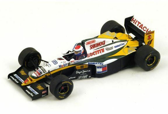 Spark Spark Spark Model 1 43 S1678 Lotus 109  11 Europe GP 1994 - Eric Bernard NEW dbd6a5