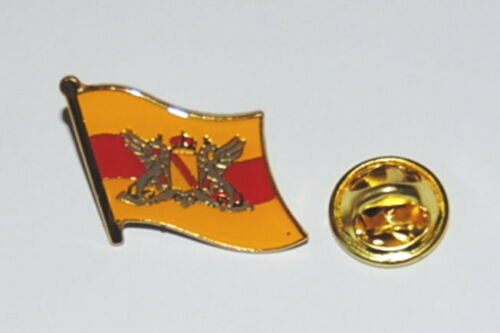 ANSTECKER PIN 0181 GROSSHERZOGTUM BADEN FLAGGENPIN METALL EMAILLIERT SAMMLER NEU