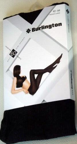 Fashion Damen Strumpfhose Burlington 20305 Gr.: 42-44  M//L Titan // Grau