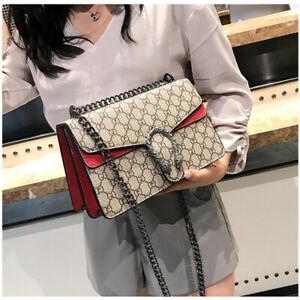 Large-Women-Dionysus-Purse-Bag-Leather-Metal-Chain-Shoulder-Evening-Handbag