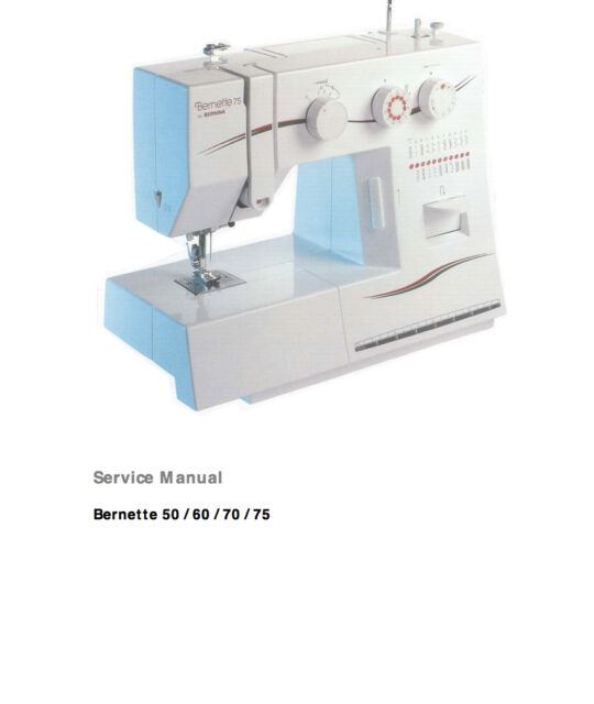 BERNINA Bernette 40 40 40 40 Service Manual Parts Schematics In Extraordinary Bernina Sewing Machines Repair Centers