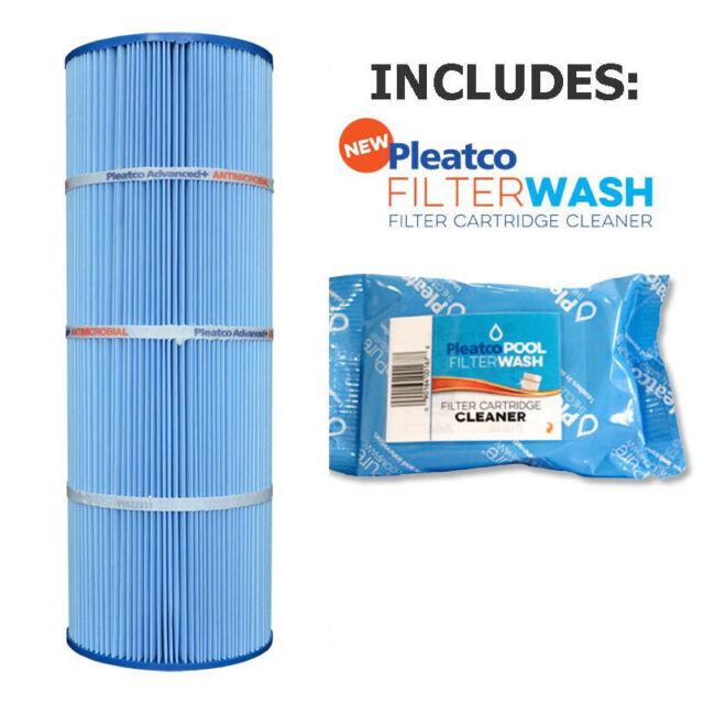 Pleatco PA50-M Microban Pool Filter Hayward StarClear C500 w// 1x Filter Wash