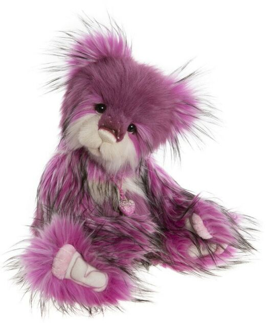 Cotton Candy a 19 inch Bear from the 2020 Charlie Bears Collection