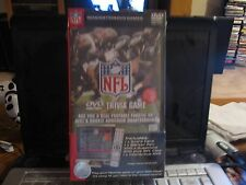 OFFICIAL NFL INTERACTIVE DVD Trivia Game with 500 + Trivia Questions - NIB