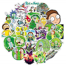Stickers Decal For Snowboard Laptop Luggage Car 25pcs Drama Rick/&Morty