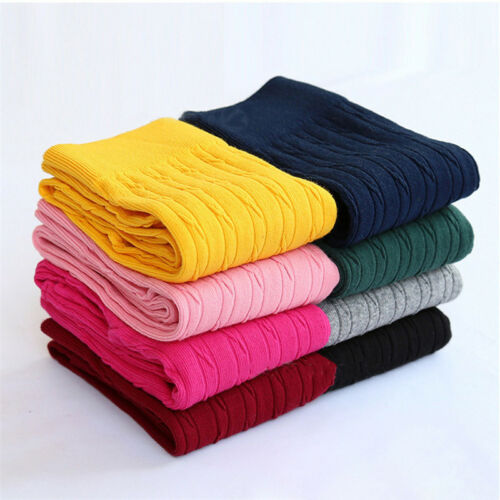 7 Colors Girls Leggings Kids Thicken Pants for Height 100-150cm Girls Trousers