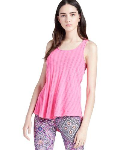 S 100 Texture Femmes Lucky Cotton Rose Rayures À Brand Swing Fluo De w8CEEUHpTq