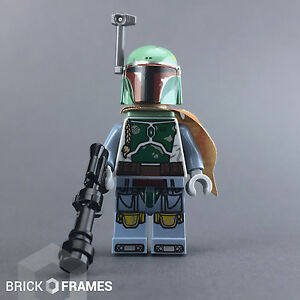 Lego Star Wars Boba Fett Minifigure Brand New With Blaster And