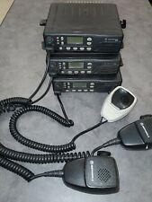 Motorola Gtx M11ugd6cb1an 800 Mhz Trunking Radio Lot Of 3