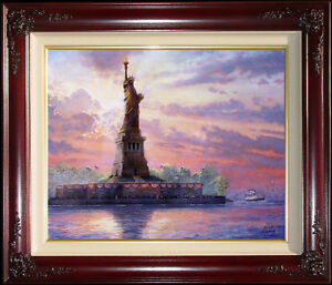 Thomas-Kinkade-Dedicated-to-Liberty-16x20-Examination-Proof-E-P-Limited-Canvas
