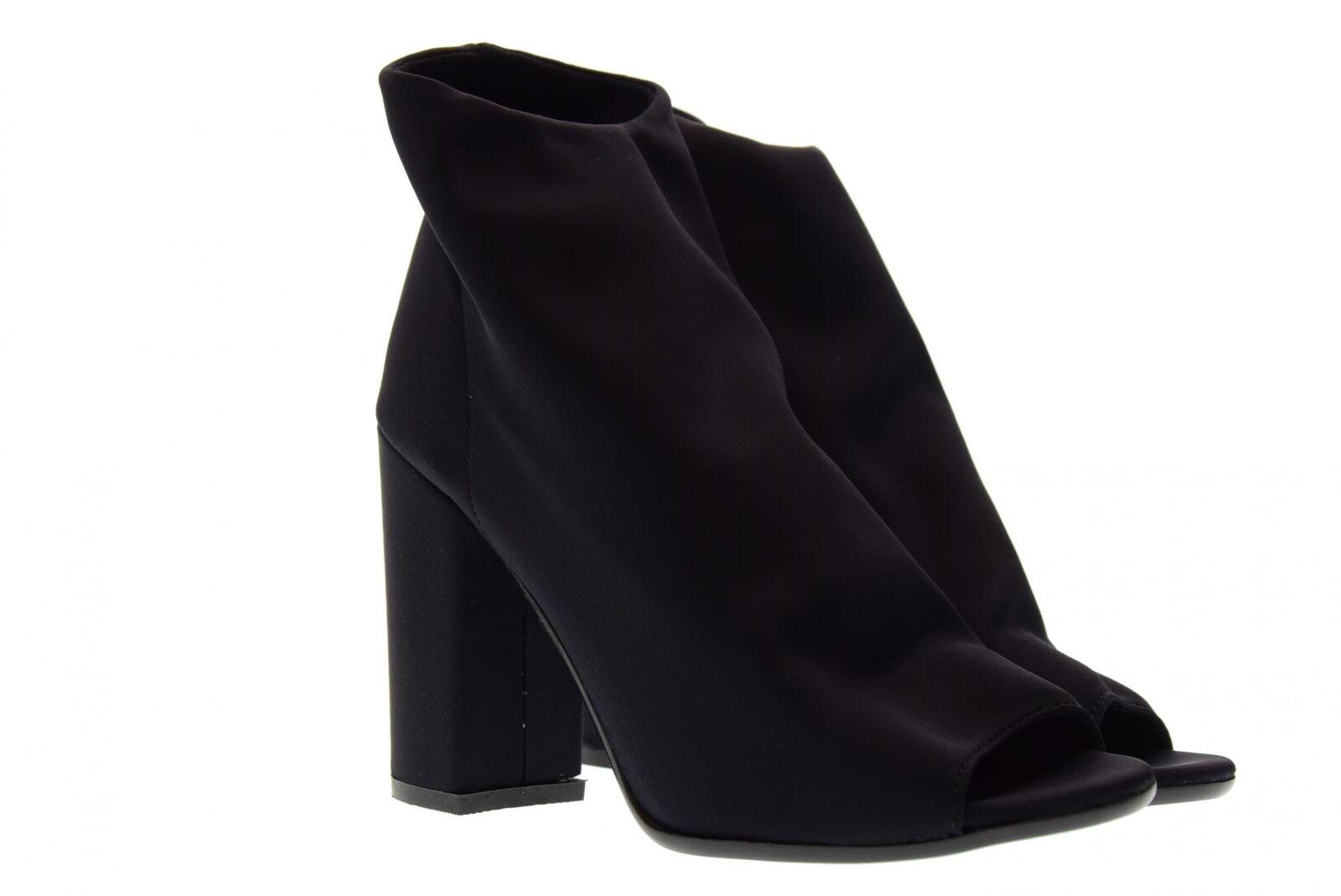 Ovye P18us para mujeres Zapatos Botín DL-Marc 20 Negro