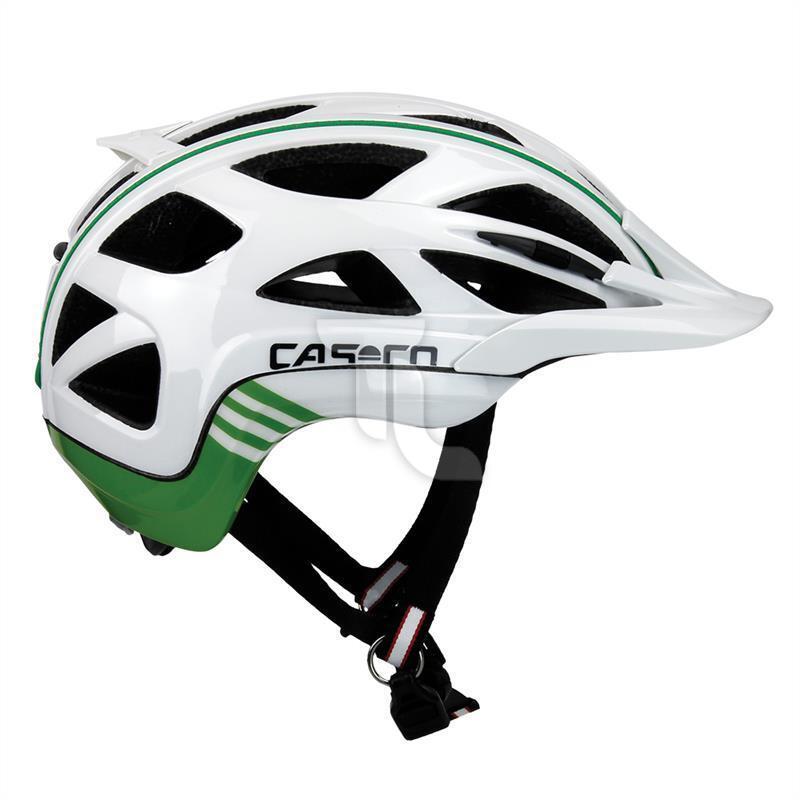 Casco active 2 radhelm blancooo-verde 0830 bicicleta casco nuevo