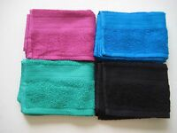 The Big One 28 X 16 Hand Towel Black, Green, Raspberry, Turquoise Retail $7.99