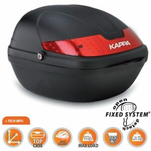 BAULETTO-TOP-CASE-CITYBIKE-SCOOTER-KAPPA-KCY14N-FIXED-CAPIENZA-14-LITRI